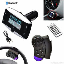 1.5''LCD Car Kit MP3-Player Bluetooth FM Transmitter Modulator SD MMC USB Fern