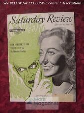 Saturday Review September 25 1954 MOIRA SHEARER FAUBION BOWERS LISTON POPE