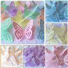20 Pastel 3d Butterfly Wedding Confetti Table Decorations Toppers MORE COLOURS