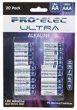 Pro elec-PSG91246-aaa/aa ultra piles alcalines blister pack (20 pack)