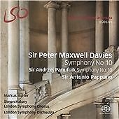 LSO, SIR PETER MAXWELL DAVIES, SYMPHONY No 10, 5 TRACK SACD FROM 2015, (MINT)