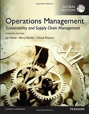 Operations Management: Sustainability and Supply Chain Management, Global Editio