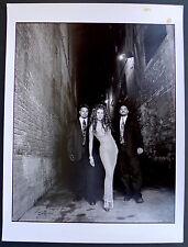 Photo Andre Rau - Celine Dion - Tirage argentique d'époque 1989 -