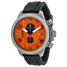 Breed Arnold Orange Dial Chronograph Mens Watch 0303
