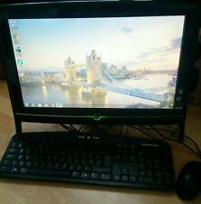 "ACER EMACHINES ez1711 All in One TOUCHSCREEN 18.5"" Windows 7 PC 500gb 3gb di RAM"