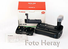 Canon BG-E2N originaler Akkugriff + Battery  Holder-Magazin BG-E,  OVP. BG-E2N