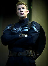 PHOTO CAPTAIN AMERICA, LE SOLDAT DE L'HIVER - CHRIS EVANS  FORMAT 20X27 CM