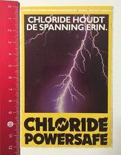 Aufkleber/Sticker: Chloride Powersafe-Chloride Houdt De Spanning Erin(290516128)