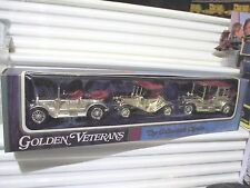 Lesney Matchbox 1970 Models of Yesteryear 3PC GOLDEN VETERANS Gift Set Y7 13 14