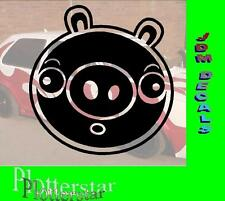 Angry Pig nr1  JDM Sticker Aufkleber oem Power fun like Shocker Drift