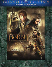 The Hobbit The Desolation of Smaug Extended Edition (Blu-ray + Digital HD) New!