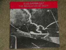 RARE Blue Oyster Cult The Revolution By Night Promo Vinyl  Record lp