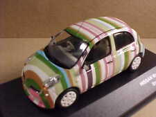 J-collection 1/43 Diecast 2007 Nissan March Supermini Striped Version  #JC211