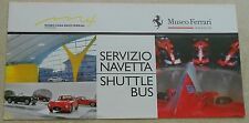 Museo Casa Enzo Ferrari 2014 Modena FOLDER brochure prospetto NO BOOK LIBRO Press
