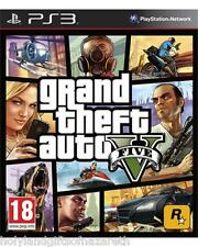 Grand Theft Auto V 5 New  Playstation 3 Gta Sealed 2014 One Sony  Rockstar Game