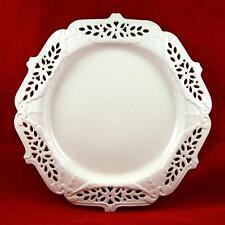 "Leedsware Classical Creamware Reticulated Plate/Dish 10½"" PERFECT"