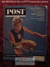 Saturday Evening POST October 10 1964 PEGGY LEE PAT WINSLOW