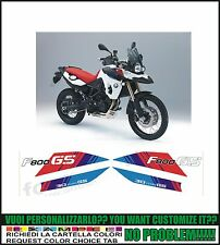 kit adesivi stickers compatibili f 800 gs 30 anniversary edition 2011