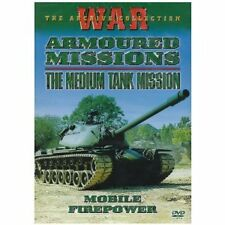 Armoured Missions - The Medium Tank Mission, Mobile Firepower DVD NEW AND SEALED