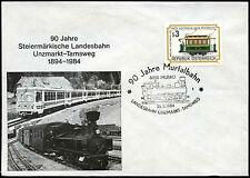 Austria 1984 Railway Locomotive Cover #C36380