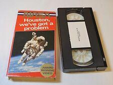 NASA Houston We've got a Problem Award winning video VHS TAPE space RARE HIFI