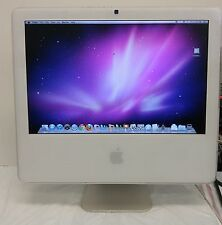 "Apple iMac A1195 17"" Core 2 Duo 1.86 GHz 1GB RAM 160GB HDD OS X 10.6 2007"