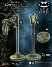 Knight Models BNIB Sewer and Lampost Set III ACC0030