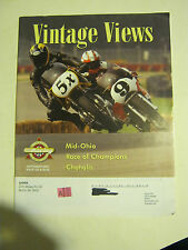 September 2007 issue 222 Vintage Views AHRMA Magazine  (BD-41)