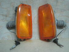 NOS GENUINE FORD CORTINA Taunus Mk4 TE 2000 GHIA MKIV PAIR SIDE INDICATOR LAMPS