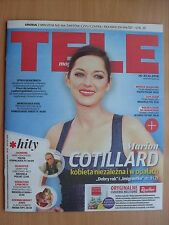 MARION COTILLARD on front cover Polish Magazine TELE MAGAZYN 50/2016