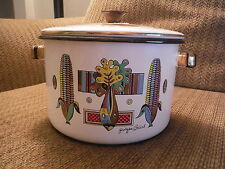 """GEORGES BRIARD Corn Style Cooking Pot with Lid - 8"""" Diameter"""