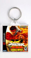 STREET FIGHTER 3 DOUBLE IMPACT DREAMCAST KEYRING LLAVERO