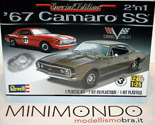 KIT 1967 CAMARO SS 2 IN 1 396 TURBOJET 1/25 REVELL MONOGRAM 04936 4936