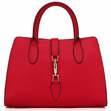 "Thompson Luxury Bags 2016 ""Anisha"" Leder ROT Business Handtasche Tasche -UVP255€"