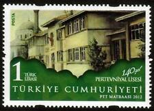 TURKEY MNH  2012 The 140th Anniversary of Pertevniyal High School