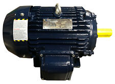 5 hp electric motor 184t 3 phase high efficient 1800 rpm severe duty enclosed