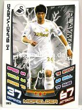 Match Attax 2012/13 Premier League - #283 Ki Sung-Yueng - Swansea