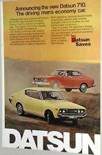 1974 Datsun ad, Datsun 710 2-door & 4-door, Nissan