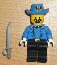 Lego Wild West 1 Soldat / General mit Säbel