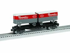 O-Gauge - Lionel - New York Central Flatcar With Trailers