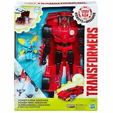 Transformers Robots in Disguise sobrecarga de energía Sideswipe Y Mini-con windswipe