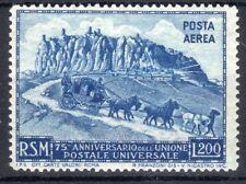1950 San Marino £200 75° Anniv. UPU Congiunta Parallela con Italia MNH**