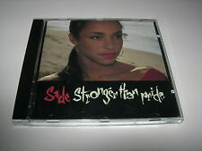 Sade - Stronger Than Pride - Original EPIC 1988 Release CD