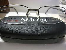 VAN HEUSEN EYEGLASS FRAMES Style LORENZO TAN  53-18-140 TITANIUM With Case