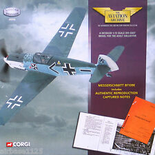 CORGI AVIATION 1/72 Messerschmitt Bf109E Franz von Werra with Pilot Notes 49205
