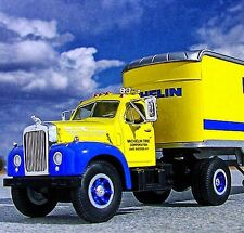 V RARE / MICHELIN TIRES B MACK SEMI TRUCK  -  First Gear