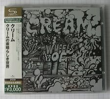 Cream-Wheels Of Fire GIAPPONE SHM 2cd OBI nuovo rar! UICY - 91392-3 Eric Clapton