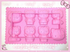 Silicone Hello Kitty sharped Ice Cube Tray Mold Maker Bar Party Drink KitchenDIY
