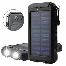 Solar Charger, 10000mAh Solar Panels Power Bank, Bovon External Battery