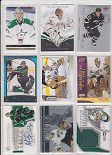 Marty Turco Kari Lehtonen 36 Lot Limited Materials Titanium Certified Patch /75